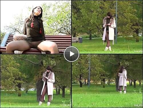 older women in pantyhose video