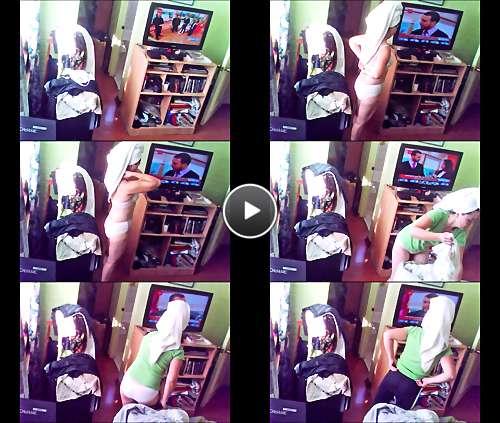 porno hidden cam video