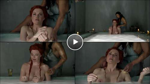sexy topless woman video